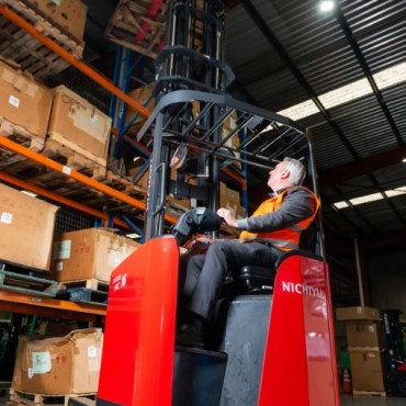 Nichiyu Reach Truck, Narrow Aisle- 1400kg to 2,000kg Capacity