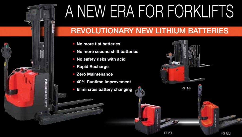 A new era for forklifts
